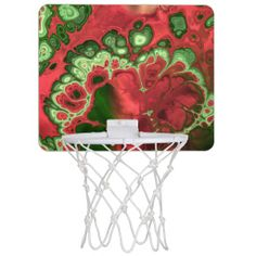 Fractal Art 2-4 Options Mini Basketball Hoops