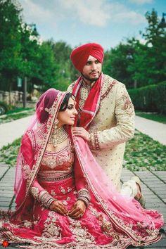 Sikh Wedding Couple Shot