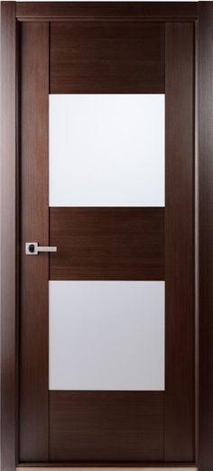 $403 Maximum-204-Wenge Contemporary African Wenge Interior Single Door