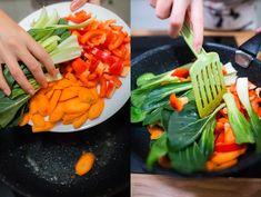 Kung pao: recept na rychlou večeři s kuřecím masem a zeleninou Orzo, Celery, Vegetables, Food, Meal, Essen, Vegetable Recipes, Hoods, Meals