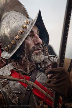 Battle of Groll, 1627 (reenactment). Helmet Armor, Arm Armor, Conquistador, Medieval Armor, Medieval Fantasy, Thirty Years' War, Armor Clothing, Armadura Medieval, Landsknecht