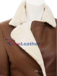 Designer Leather Jackets, Winter Sale, Casual Street Style, Fur, Brown, Coat, Archive, Store, Women