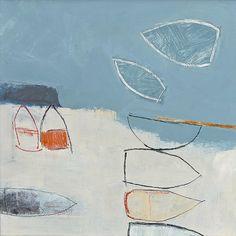 """Beyond The Bar"" - Malcolm Taylor. Paintings I Love, Art Paintings, Abstract Landscape, Landscape Paintings, Abstract Shapes, Abstract Art, Modern Art, Contemporary Art, Wax Art"