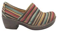 B.O.C. Women Us 6.5 Multi Color Pre Owned Multi Striped Mules. Get the must- bc71e5c963a6