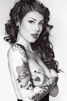 A little love to the tatted beauties out there