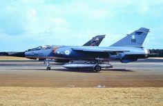 Mirage F1CG 118 334 Mira - 2.8.90 - exchange with II(AC)Sqn  RAF Laarbruch 1990