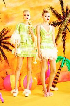 Moschino Cheap And Chic Spring 2014 Ready-to-Wear Fashion Show Nicole Scherzinger, Burberry Prorsum, Spring 2014, Spring Summer, Summer 2014, Summer Time, Moschino, Malibu Barbie, Stylish Eve