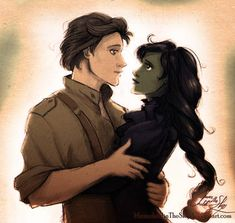 well I have nothing to add here if you heard the one of my fav songs from this musical, kyyyaaaa I love Wicked!♥ Elphie and Fiyero belo. As long as you are mine Wicked Musical, Broadway Wicked, Broadway Theatre, Wicked Witch, Musical Theatre, Broadway Shows, Cats Musical, Wicked Book, Dear Evan Hansen