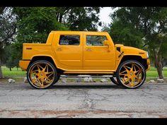 Hummer on Forgiato Wheels - Big Rims - Custom Wheels Hummer Cars, Hummer Truck, Hummer H1, Semi Trucks, Big Trucks, 22 Inch Rims, Dodge Charger Hellcat, Luxury Van, Trucks