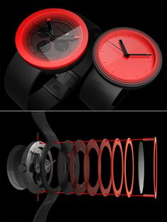 MINUS 8 Watches from Astro Studios - Core77
