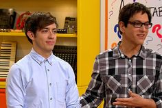 For adaptability week, the guest mentor was Kevin McHale! #TheGleeProject