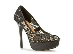 And of course lace shoes!