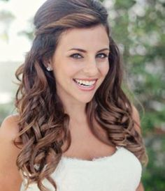 wedding hairstyles half up half down - Google Search