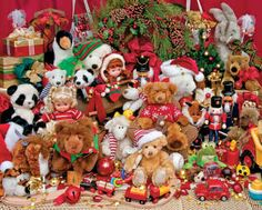 Holiday Playtime  ~ 500 Piece Jigsaw Puzzle