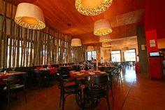 proyectos con lamparas decorativas restaurantes, patio comidas, eventos
