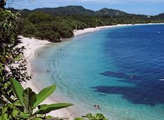 Montezuma, which is a hip little beach town on the Nicoya Peninsula in Costa Rica