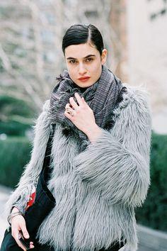 Vanessa Jackman: New York Fashion Week AW 2012...Pauline