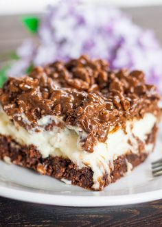 Triple Bypass Brownies - for those days when you need a little pick me up. Three layers of complete delicious madness.