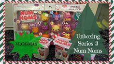 Num Noms Series 3 Lunch Box Set Unboxing | #UnBoxingDay | Vlogmas