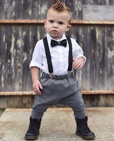 Boys' Clothing Clothing Sets Modest Baby Boy Clothing Set Newborn Infant Clothes Summer Patchwork Top+pants Gentleman Suit Infant Clothes Set For Kid Boy Convenient To Cook
