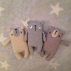 Miguel the bear. Free amigurumi pattern. - Handmade-happy con Olgamigurumi