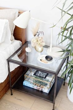 Her nightstand ideas by @100layercake