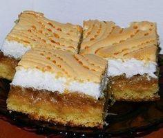 Csak a saját felelősségedre süsd meg, mert hamar a rabja lehetsz! Apple Cake Recipes, Sweets Recipes, My Recipes, Cooking Recipes, Romanian Desserts, Romanian Food, No Cook Desserts, Just Desserts, Jam Cookies