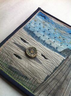 art quilt-cesta ktovie kam