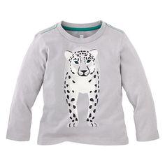 | Schneeleopard Graphic Tee | Schneeleoparden (snow leopards) can't roar because of their unique vocal cords |