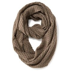 Old Navy Womens Open Weave Infinity Scarf ($17) ❤ liked on Polyvore featuring accessories, scarves, brown, brown shawl, brown scarves, infinity loop scarves, loop scarf and tube scarf