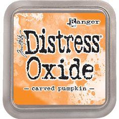 Ranger - Distress Oxide Carved Pumpkin www.papercrafts.ch