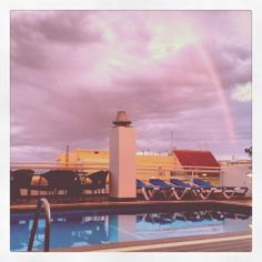 Los días nublados también tienen sus ventajas ¿Veis el arcoíris?