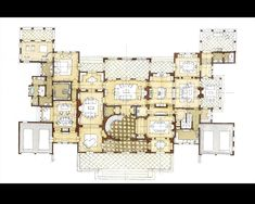 Stephen Fuller Designs - Anglo Palladian Villa Drawings