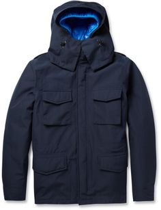 Aspesi Thermoregulating Double-Layered Field Jacket on shopstyle.com