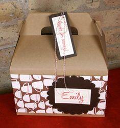 Cookie Exchange packaging idea