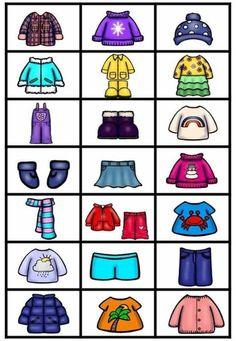 Weather Activities For Kids, Activities For 2 Year Olds, Earth Day Activities, Vocabulary Activities, Kindergarten Activities, Body Preschool, English Lessons For Kids, School Clipart, Clothes Crafts