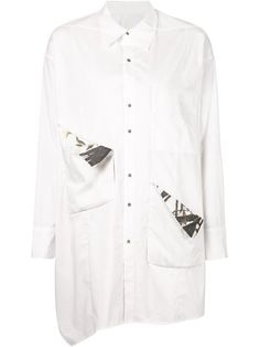 Shop H. Lorenzo X Dongliang deepmoss longline shirt in H. Lorenzo from the world's best independent boutiques at farfetch.com. Over 1500 brands from 300 boutiques in one website.