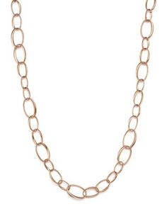 POMELLATO Catene Necklace In 18K Rose Gold. #pomellato #gold
