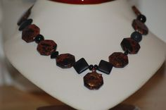 Another great item listed for sale Mahogany Obsidian Necklace by Lezlie Mays