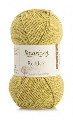 Re-Use: 100% Recycled Cotton/Algodão Reciclado