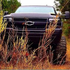 Chevy lifted up