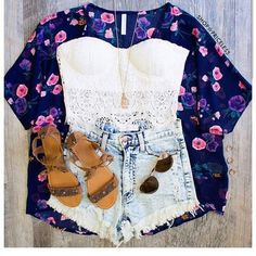 Floral #vacationoutfitsforteens