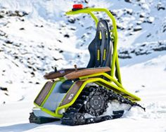 ziesel off-road wheelchair conquers all terrain