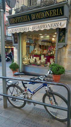 Old sweet shop in Barcelona, Catalonia