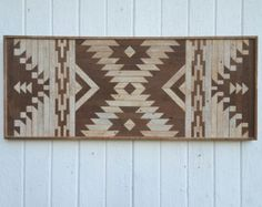 Reclaimed Wood Wall Art-Lath Art-Twin by PastReclaimed on Etsy