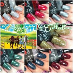 Polish and Paws: Sassy Pants Polish The Wizard of Oz Collection ~ Holiday 2015