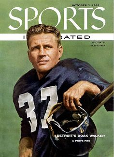 Sports Illustrated is a weekly American Sports Magazine owned by media conglomerate Time Warner. Detroit Sports, Detroit Lions, American Football, Nfl Football, College Football, Football Players, Sports Magazine Covers, Highland Park High School, Best Nba Players