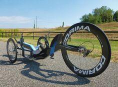 Le trike couché en carbone Slyway Formula