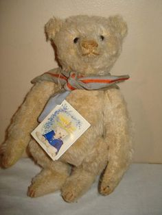 Forget Me Not Bear Rocky Dunbar OOAK by By Liz Wiltshire of Forget Me Not | Bear Pile