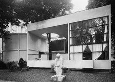 Pavillon de l'esprit Nouveau - Le Corbusier-  pavillon manifeste UAM, 1925. Le Corbusier,  Pavillon de l'Esprit Nouveau. Pour l'Exposition Internationale des Arts Décoratifs à Paris, 1925.